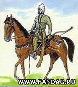 Аланский всадник VIII-IX вв. Реконструкция В.Каминского