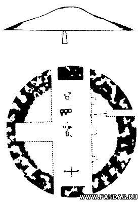 План и разрез кургана Чертомлык
